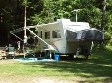RV camping at WRC