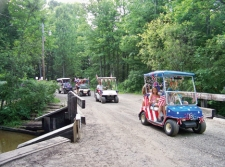 Golfkart Parade at WRC