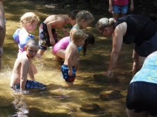 Creek Fun at WRC