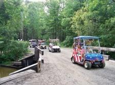 Golfkart Parade at WRC