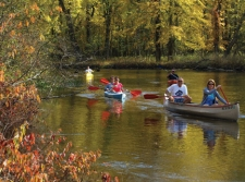 Canoes & Kayaks on the White River