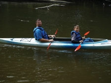 Kayaking on the White River