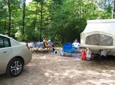 Camping at WRC