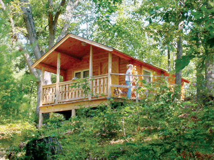 Rustic Cabin Rentals Rates Amp Info Muskegon County Mi