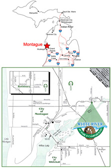 Maps & Directions | White River RV Park & Campground
